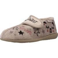 Schuhe Mädchen Hausschuhe Vulladi 8240 Grau