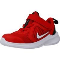 Schuhe Jungen Sneaker Low Nike DOWNSHIFTER 10 Rot