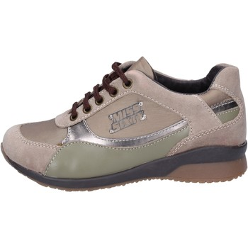 Schuhe Mädchen Sneaker Miss Sixty sneakers textil beige