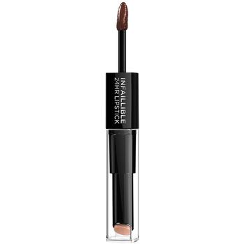 Beauty Damen Lippenstift L'oréal Infaillible 24h Lipstick 117-perpetual Brown
