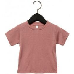 Kleidung Kinder T-Shirts Canvas CA3413T Malve Triblend