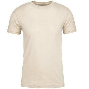 Kleidung T-Shirts Next Level NX3600 Creme