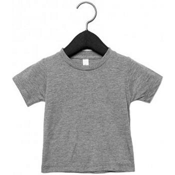 Kleidung Kinder T-Shirts Canvas CA3413T Grau Triblend
