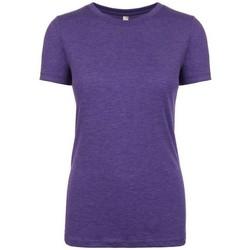 Kleidung Damen T-Shirts Next Level NX6710 Lila