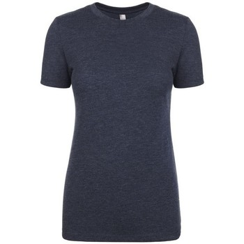 Kleidung Damen T-Shirts Next Level NX6710 Marineblau