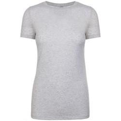Kleidung Damen T-Shirts Next Level NX6710 Weiß meliert