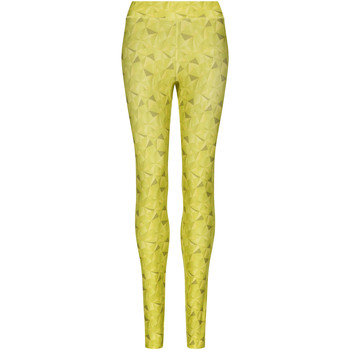 Kleidung Damen Leggings Awdis JC077 Kaleidoskop/Limette