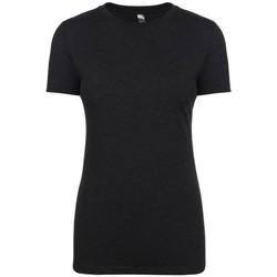 Kleidung Damen T-Shirts Next Level NX6710 Schwarz