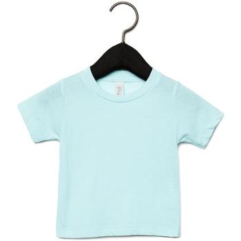 Kleidung Kinder T-Shirts Canvas CA3413T Eisblau Triblend