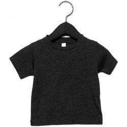 Kleidung Kinder T-Shirts Canvas CA3413T Schwarz Triblend