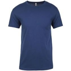 Kleidung T-Shirts Next Level NX3600 Blau