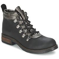 Schuhe Damen Boots Casual Attitude MIZATTE Schwarz