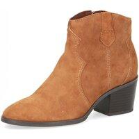 Schuhe Damen Low Boots Caprice Stiefeletten Da.-Stiefel 9-9-25701-25-377 braun