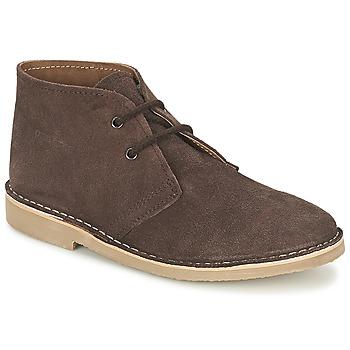 Schuhe Herren Boots Casual Attitude IXIFU Braun