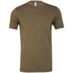 Kleidung T-Shirts Bella + Canvas CV3413 Militär Grün