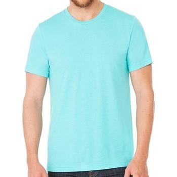 Kleidung T-Shirts Bella + Canvas CV3413 Aqua