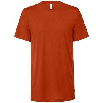 Kleidung T-Shirts Bella + Canvas CV3413 Ziegelrot
