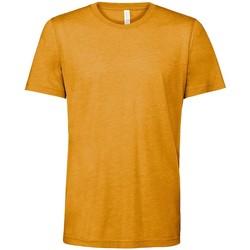 Kleidung T-Shirts Bella + Canvas CV3413 Senffarben