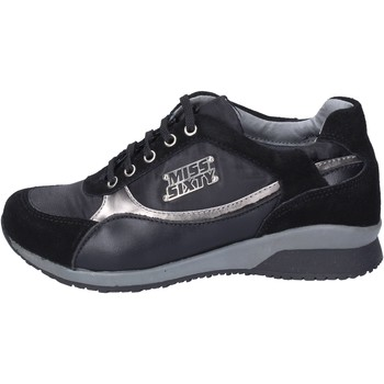 Schuhe Mädchen Sneaker Miss Sixty sneakers wildleder schwarz