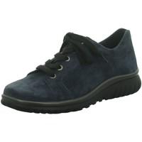 Schuhe Damen Sneaker Low Semler Schnuerschuhe Lena L5145 042 078 blau