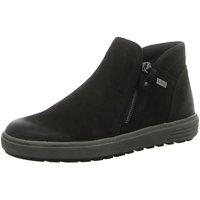 Schuhe Damen Low Boots Remonte Dorndorf Stiefeletten D4470-02 schwarz