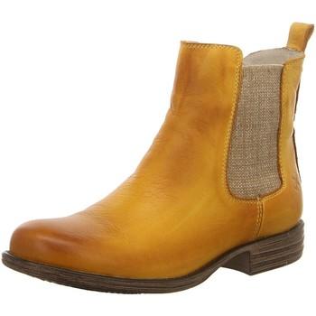 Schuhe Damen Low Boots Post Xchange Stiefeletten JESSY 8408500 gelb