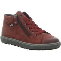 Schuhe Damen Sneaker High Remonte Dorndorf Stiefeletten Schnürstiefelette Kaltfutter D4471/35 rot