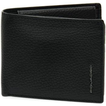 Taschen Damen Portemonnaie Piquadro N PORTAFOGLIO UOMO Nero