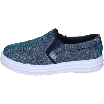 Schuhe Mädchen Slip on Solo Soprani slip on textil blau