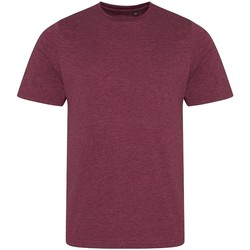 Kleidung Herren T-Shirts Awdis JT001 Burgunder meliert