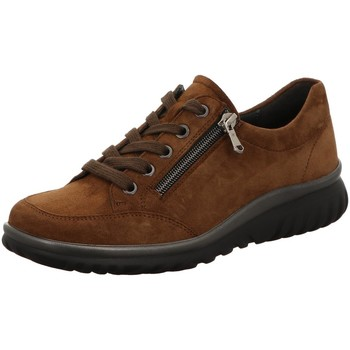 Schuhe Damen Derby-Schuhe & Richelieu Semler Schnuerschuhe SAMT-CHEVRO L5135042/047 braun