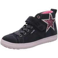 Schuhe Mädchen Boots Vado Klettschuhe  BOOT VA-TEX KLETT/GU 23103-SPACE TE/116 116 blau