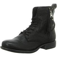 Schuhe Damen Boots Post Xchange Stiefeletten JESSY 7002220 schwarz