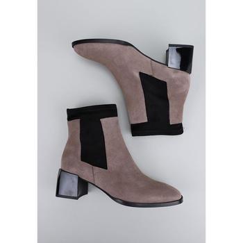 Sandra Fontan BERET Beige - Schuhe Low Boots Damen 7995