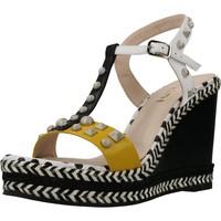 Schuhe Damen Sandalen / Sandaletten Lodi YOGAN Weiß