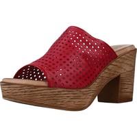Schuhe Damen Pantoffel Cokketta 1212Y Rot
