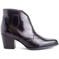 Schuhe Damen Low Boots Kissia 377 TACHAS Schwarz