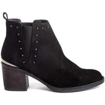 Schuhe Damen Low Boots Kissia 135 Schwarz