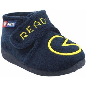 Schuhe Jungen Hausschuhe Garzon Geh nach Hause Junge  n4155.247 blau Blau