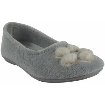 Schuhe Damen Hausschuhe Garzon Geh nach Hause Frau  5460.247 Eis Grau