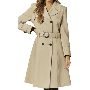 Kleidung Damen Trenchcoats Anastasia Gürtel Trenchcoat BEIGE
