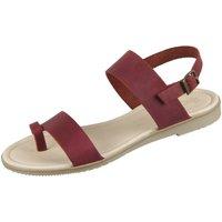 Schuhe Damen Sandalen / Sandaletten Werner Schuhe Sandaletten Saya 803 28030618 bordeaux Rodeo plus 28030618 rot