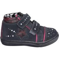 Schuhe Mädchen Sneaker High Didiblu BK203 Grau