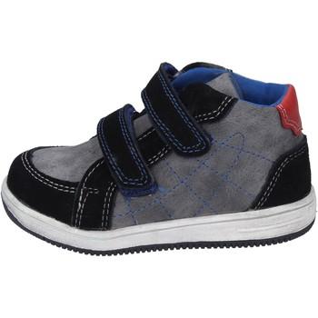 Schuhe Jungen Sneaker Didiblu BK204 Schwarz