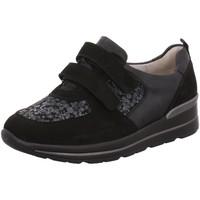 Schuhe Damen Slipper Waldläufer Slipper DENVER FLORETTE BRONX 807301-301/001 schwarz
