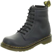 Schuhe Mädchen Low Boots Dr Martens Schnuerstiefel 1460 J 25634410 blau