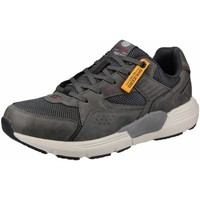 Schuhe Herren Sneaker Low Dockers by Gerli Schnuerschuhe erdbraun-anthrazit 46FZ004-607380 grau