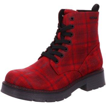 Schuhe Damen Low Boots Supremo Stiefeletten 90935 9093509 rot