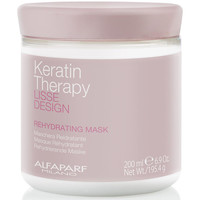 Beauty Damen Spülung Alfaparf Lisse Design Keratin Therapy Rehydrating Mask  200 ml