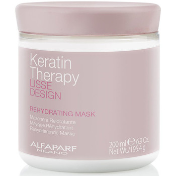 Beauty Damen Spülung Alfaparf Lisse Design Keratin Therapy Rehydrating Mask  200 ml